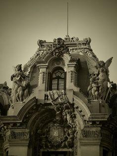 Palatul Cantacuzino Bucuresti. Romania.