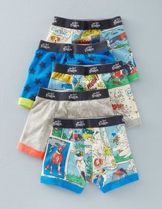 5 Pack Boxers 51029 Underwear at Boden Toddler Outfits, Baby Boy Outfits, Men's Undies, Evolution T Shirt, Boys Underwear, Kids Fashion Boy, Baby Pants, Boxers, Shorts
