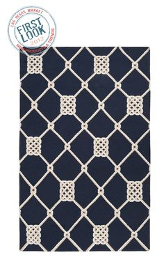 Surya serves up several on-trend lattice patterns in both classic and bright colors this summer. #lvmkt #B3