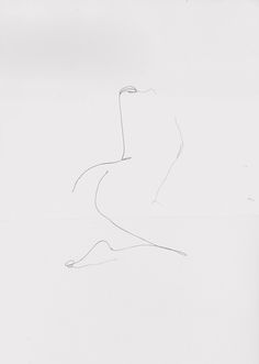 """gusty: """" by Chris Devour """" Minimalist Drawing, Minimalist Art, Body Sketches, Art Sketches, Line Drawing, Painting & Drawing, Figure Drawing, Drawing Ideas, Minimal Drawings"""