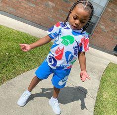Toddler Boy Fashion, Cute Kids Fashion, Toddler Boy Outfits, Baby Girl Fashion, Kids Outfits, Baby Outfits, Baby Boy Swag, Cute Little Girls Outfits, Cute Black Baby Boys