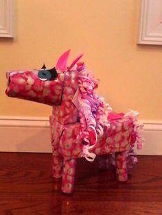 Princess horse Valentine box