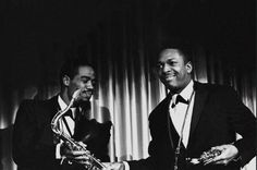 John Coltrane and Eric Dolphy