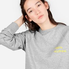 Human Pride Unisex French Terry Sweatshirt in Small Print | Everlane