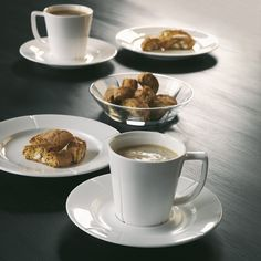 Rosendahl (Denmark) | Grand Cru - coffee cup and saucer | design by Panik Design