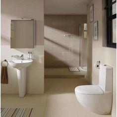 RAK Ceramics Reserva Back to Wall Close Coupled Toilet Modern Toilet, Modern Bathroom, Close Coupled Toilets, Back To Wall Toilets, Timeless Elegance, House Design, Ceramics, Contemporary, Mirror