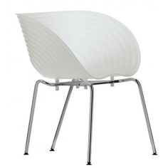 The Tom Vac Chair was designed in the year 1999 by Ron Arad for Vitra. The chair Tom Vac is stylish and versatile. For his creation for Vitra Ron Arad chose a