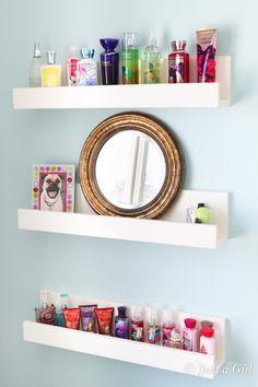 Perfume Organization Storage Display Makeup Bathroom