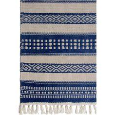 Estate Handwoven Blue Rug