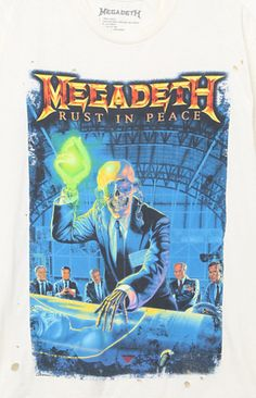 Megadeth Rust In Peace T-Shirt