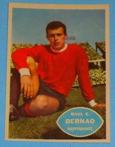 Raul Bernao - Independiente - #34 - 1965