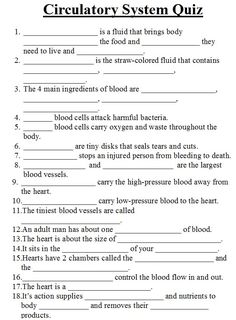 Brilliance circulatory system diagram worksheet parts of circulatory in science we have continued to learn and consolidate our learning about the circulatory system ccuart Image collections