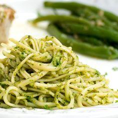 Kale and Walnut Pesto Pasta