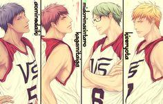 Dcsorylumaatcqu Haikyuu, Vorpal Swords, Kiseki No Sedai, Kuroko's Basketball, Kuroko No Basket, Cool Pictures, Anime, Nice Picture, Otaku