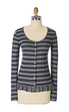 000ff5223b593 Different Stripe Cardigan - anthropologie.com tea party Anthropologie  Brands, Striped Cardigan, Tees