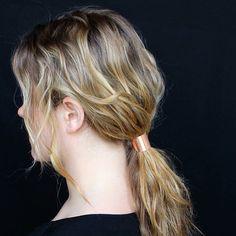 Medium Metal Hair Tie \ Caravan Pacific