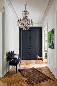 - DECORACION - Una casa en París. Hall