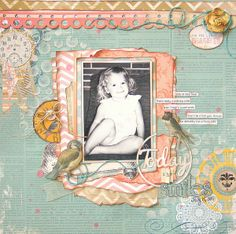 Today She Smiles **My Creative Scrapbook** - Two Peas in a Bucket