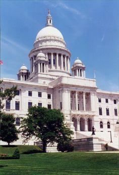 Rhode Island Statehouse. Providence. 2001. photo by Steve Golse.