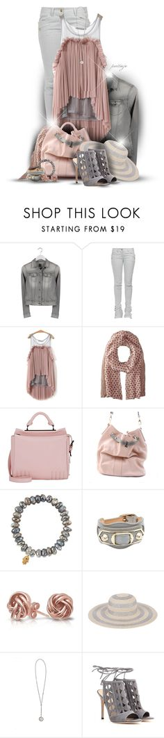 """""""Looking High and Low"""" by rockreborn ❤ liked on Polyvore featuring Replay, Balmain, 3.1 Phillip Lim, Urban Travel, Sydney Evan, Balenciaga, Bling Jewelry, San Diego Hat Co., Ann Demeulemeester and Gianvito Rossi"""