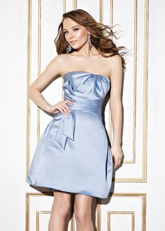 Cheap Simple Ball Gown Strapless Ruching Short/Mini Satin Cocktail Dresses From Highly Praised Online Shop Satin Cocktail Dress, Cocktail Dresses, Cheap Wedding Dress, Wedding Dresses, Bridesmaid Dresses Under 100, Strapless Dress Formal, Formal Dresses, Special Occasion Dresses, Ball Gowns