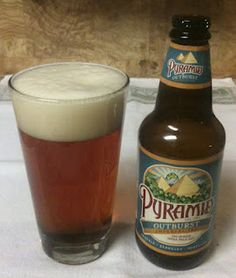 Outburst Imperial IPA from Pyramid Breweries