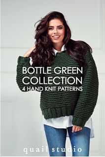 Ravelry: Tale Boxy Sweater pattern by Quail Studio Wool Yarn, Knitting Yarn, Hand Knitting, Rowan Felted Tweed, Big Wool, Leaflet Design, Wrist Warmers, Chunky Yarn, Garter Stitch