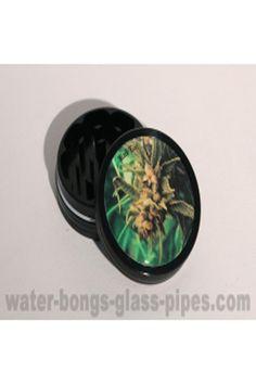 metal grinder black leaf buds