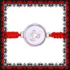 Martisor Bratara Sidef Zodia Scorpion Scorpion, Zodiac, Crochet Necklace, Personalized Items, Jewelry, Scorpio, Jewlery, Crochet Collar, Bijoux