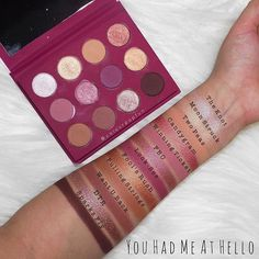 """WEBSTA @colourpopfun """"You Had Me At Hello"""" Palette ✨ A good combo of mattes and shimmers! Plus it comes with a mirror  Link in bio  . . . . ."""