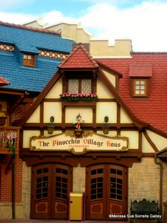 Guest Review: Pinocchio Village Haus — Now With Flatbreads! eating here this year on our vacation for the first time ( =