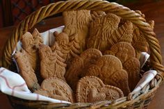Pfefferkuchen, old german gingerbread with rye flour and honey by Cookie mold cookies, via Flickr
