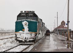 RailPictures.Net Photo: VIA 6439 VIA Rail EMD F40PH-3 at Moncton, New Brunswick, Canada by Dan Tweedle New Brunswick, Via Rail, Station To Station, Train Truck, Train Times, Train Pictures, Train Engines, Prince Edward Island, Trains