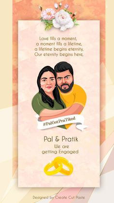 If you are a connoisseur of all things fun and light-hearted, then it definitely needs to reflect through your wedding invite too! We picked some wedding card designs that are quirky, elegant and classy at the same time. Have a look! Desi Wedding Decor, Wedding Wall, Wedding Card Design, Wedding Things, Indian Wedding Invitation Cards, Engagement Invitations, Wedding Cards, Save The Date Illustrations, Save The Date Pictures
