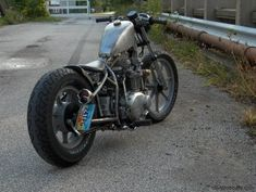 Kawasaki KZ750 Bobber Motorcycle