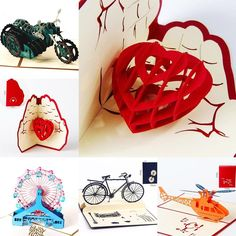 New 3D Pop Up Cards Valentine Lover Anniversary Greeting Cards Invitations Cards   eBay