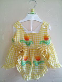 Absolutely Adorable Vintage 2 Piece Baby Girl by rockpapermagic, $18.00