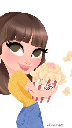 Divas, Pop Corn, Photo Displays, Display Photos, Drawing S, All Art, Barbie Dolls, Concept Art, Character Design