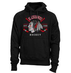 Chicago BLACKHAWKS Hoodie Indian Crossed Hockey Sticks Shirt Stanley Cup Shirt Blackhawks tShirt Sweatshirt