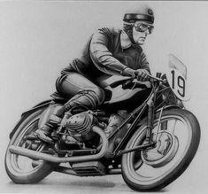 PHOTOS de COURSES 1950 / 1960 – Le Blog de François Fernandez Motos Vintage, Bmw Vintage, Vintage Biker, Vintage Signs, Motorcycle Posters, Bike Art, Motorcycle Bike, Motorcycle Gifts, Bmw Motorcycles