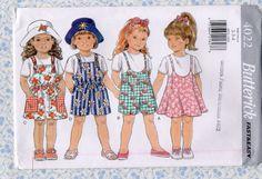 Butterick 4022 Childrens Little Girls Jumper by HermionesCloset