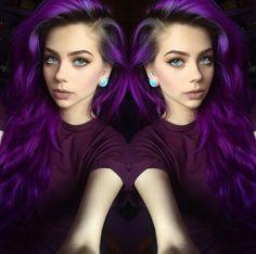 Bright Purple Hair (@lastfeastofthewolves via instagram)