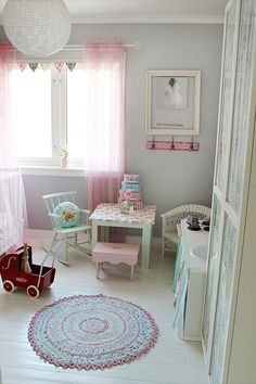 Bedroom for a little girl
