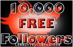 10k FREE Twitter Followers NO Exchanges! - SEO Clerks FreeMoney