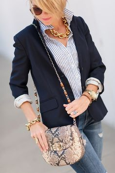 More stripes and neutrals.