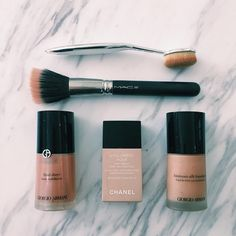 My favorite foundations #mysecrets