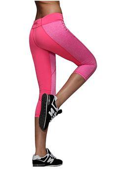 3eea85bc154f Lotus Instyle Frauen Capri Yoga Hosen Lauftraining Athletisch Leggings  Strumpfhosen Blue-M  Amazon.