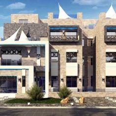 3d power provides quality bungalow 3d rendering modern bungalow ali al arbash villa dasma kuwait malvernweather Choice Image
