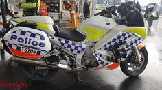 https://flic.kr/p/TKSVbY | Western Australia Police | Yamaha FJR 1300 TS705 Traffic Branch Unit motorcycle at Mundijong Police Station Open Day 2017