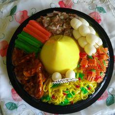 Pudding tumpeng #diy #pudding3d #puddingmalang #dapurmamaluna